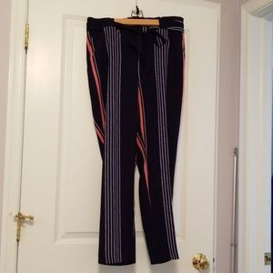 Express tie front pants